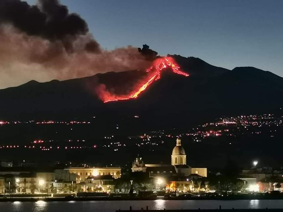 Uno spettacolo naturale chiamato Etna